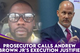 Prosecutor Calls Andrew Brown Jr's Execution Justified