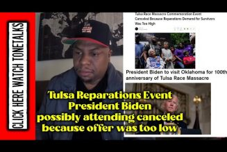 Tulsa Reparations Event President Biden possibly attending canceled because offer was too low