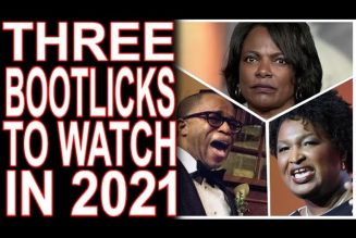 Val Demings, Jonathan Capehart & Stacey Abrams -Bootlick Class of 2021