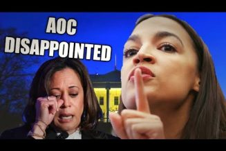 """AOC DISSAPPOINTED by KAMALA's Speech