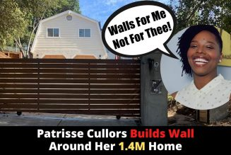 BLM Co-Founder Patrisse Cullors Builds Wall Around Her Home
