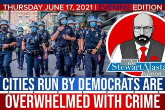 CITIES RUN BY DEMOCRATS ARE OVERWHELMED WITH CRIME | The Stewart Alastair Edition