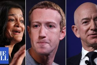 """Democrat Rep. SLAMS Big Tech CEOs: """"They're too big to care and put profits over people"""""""