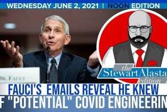"""FAUCI'S EMAILS REVEAL HE KNEW OF """"POTENTIAL"""" COVID ENGINEERING 