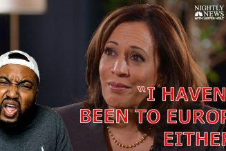 Kamala Harris SNAPS at Lester Holt 'I Haven't Been To Europe' Either When PRESSED On Going To Border