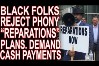 Media Fails To Redefine Reparations. Black Folks Still Want It In Cash!