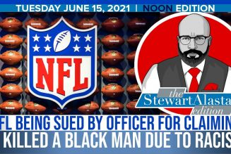NFL SUED BY OFFICER FOR CLAIMING HE KILLED A BLACK MAN DUE TO RACISM | The Stewart Alastair Edition