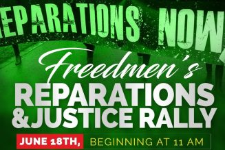 Rally in Atlanta; We are the #Freedmen; Juneteenth; American injustice continues