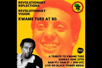 Revolutionary Reflections, Revolutionary Vision: Kwame Ture at 80