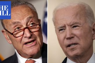 """Schumer to Biden: """"You can cancel student loan debt with a flick of a pen"""""""