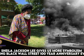 Sheila Jackson Lee Gives Us More Symbolism During Black Wall Street 100 Year Anniversary Event
