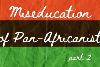 The Miseducation of Pan-Africanist pt.2