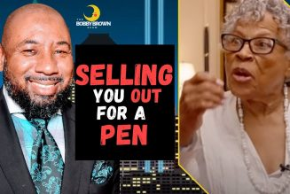 These Old Negros Selling You Out For A Pen