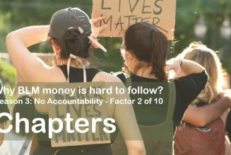 Why BLM money is hard to follow? Reason #3 – Factor 2: Chapters