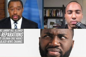 Why Marc Lamont Hill Allowed Anti Reparations Advocate Coleman Cruz Hughes On The Black News Channel