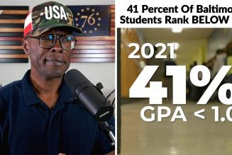 41% Of Baltimore City Students ARE FAILING! Why?