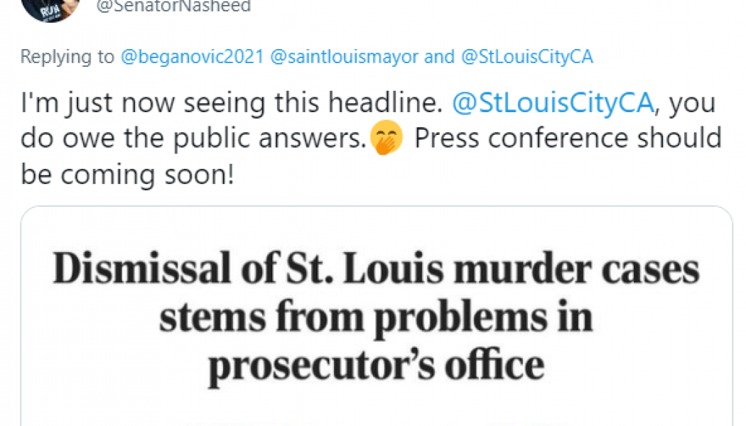 ☕ Morning fam, Kim Gardner is imploding, the sharks smell blood, black leaders are distancing themselves and I'm sitting here watching it all play out the very way I told you it would…