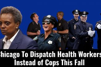 Chicago's Health Workers Will Replace Cops Next Month