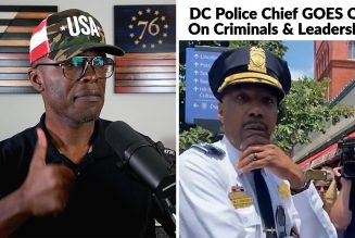 DC Police Chief GOES OFF On Criminals AND Soft LEADERSHIP!