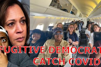 Fugitive Texas Democrats Who Flew MASKLESS On Private Jet CAUGHT COVID Then Met With Kamala Harris!