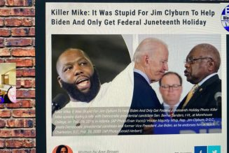 """Killer Mike Say's Jim Clyburn is """"Stupid for Helping Biden only for Juneteenth"""""""