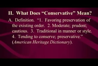 Most Black People Are Conservative And Don't Even Realize It