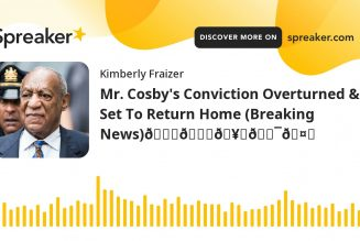 Mr. Cosby's Conviction Overturned & Set To Return Home (Breaking News)👏👏🥂💯🤗