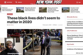 REPORT: 8,600 black lives lost to homicide in 2020 but these black lives don't seem to matter | JS