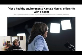 REPORT: Kamala Harris's 'abusive' office: VP rife with dissent as staffers' claims surface