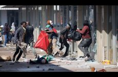 SOUTH AFRICA UNREST AND RIOTS