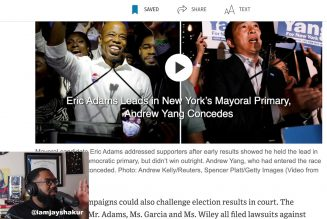 UPDATE: Eric Adams wins NYC Mayoral Primary as democrat opponents look to challenge results