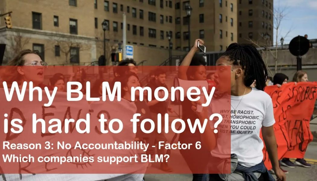 Which companies donated to Black Lives Matter?