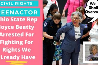 Woke Rep Joyce Beatty arrested for fighting for voting rights that we've had for 60 years. LOL