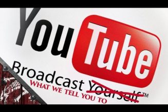 Youtube Shuts Down Another Channel Who Refuses To Fall In Line. Here's The Solution.