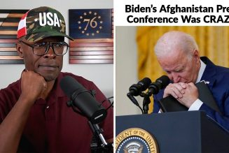 Biden's Afghanistan Press Conference Was A DISASTER!