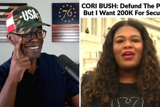 Cori Bush: DEFUND The Police But I Want PRIVATE SECURITY!