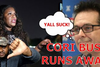 Cori Bush Runs Away When Confronted On Her Job Failure As Jimmy Dore BLASTS The Squad For Being WEAK