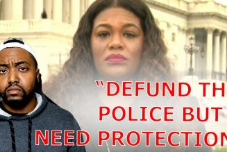 Cori Bush Says Defund The Police But She Needs Private Security Because She Needs Protection