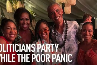 """Obama Holds Tone Deaf """"Super Spreader"""" Birthday Bash As Millions Suffer From Financial Ruin."""