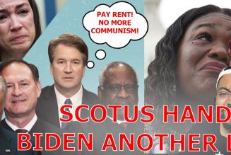 SCOTUS & Landlords Hand Joe Biden ANOTHER FAT L AS THEY STRIKE DOWN The CDC's Eviction Moratorium