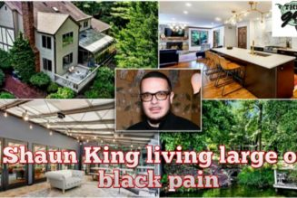 """Shaun King aka """"Talcom X"""" just purchased a $800K home in New Jersey   THE GMS SHOW"""