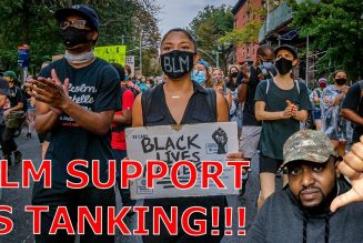 Support For Black Lives Matter Is TANKING As Police Brutality Magically Disappeared After Election