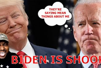 BIDEN IS SHOOK! Admits He Is CONCERNED About 'F Biden' Signs And Boxing Trump!