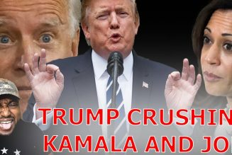 Biden Now More UNPOPULAR Than Kamala As Trump CRUSHES Both In Them In 2024 Election Matchup!