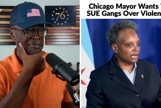 Chicago Mayor Wants To SUE Gangs Over City Violence!