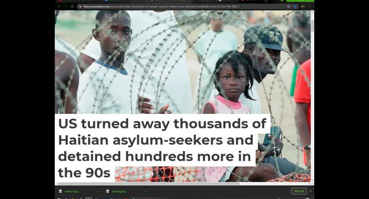 Haitian Treatment in Del Rio is NOTHING NEW! aSK bUsH & cLIntOn