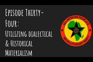 Pantsula Podcast Ep 34: Historical & Dialectical Materialism