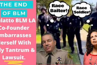 Police Chief destroys BLM LA co-founder after she sues department for attempting to save her life.