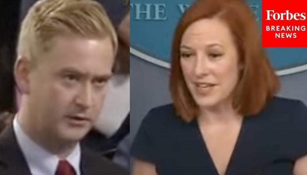 Psaki Admits Migrants Don't Have To Get COVID-19 Vaccine While US Employees At Large Business Do