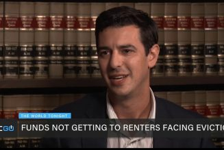 Renters Not Receiving Federal Funds to Prevent Eviction